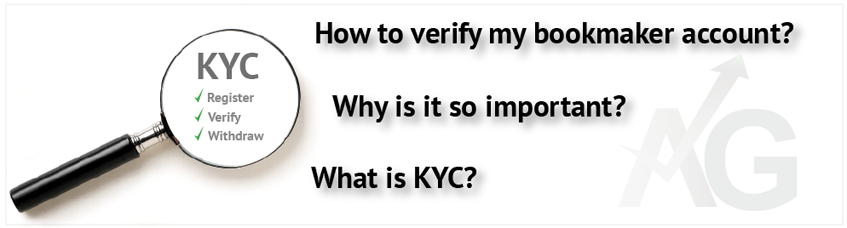 Bookmakers account verification |KYC
