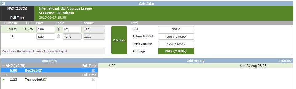 Free sports arbitrage betting calculator jordan huthwaite sure betting